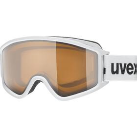 UVEX g.gl 3000 P Goggles white mat/polavision